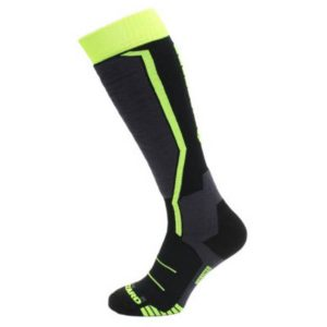 Skarpety Blizzard Allround Ski Socks Junior Black Anthracite Signal yellow 2018 najtaniej
