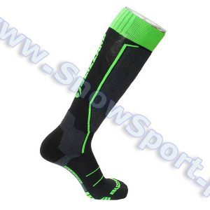 Skarpety Blizzard Allround Ski Socks Black Anthracite Green 2018 najtaniej