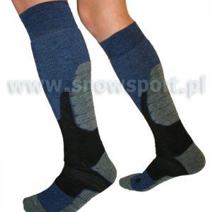Skarpety Ski Sock - Sesto Senso - kolor mix najtaniej